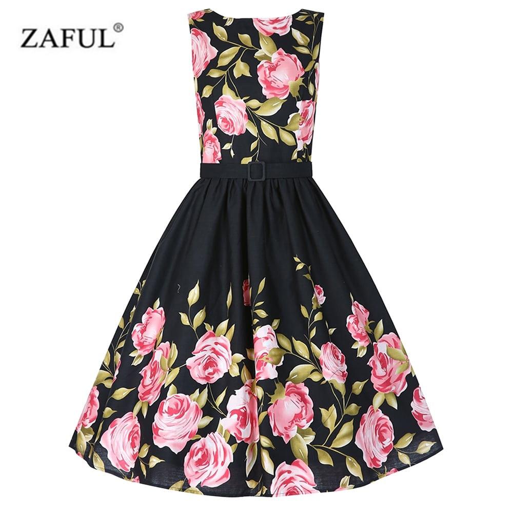 Online Buy Wholesale vintage rose dress from China vintage rose ...