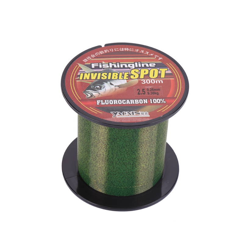 100/150/200/300/500M Green Fishing Line Super Strong Nylon Not Fluorocarbon Tackle Non-Linen Multifilament Fishing Line