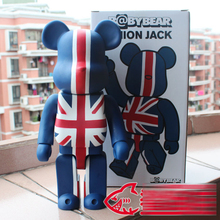 Hot Sale Bear British Style 400% Large Size Decoration Doll Brick 28cm W/ Yellow Box