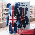 Venta caliente Bearbrick British Style 400% de Gran Tamaño Decoración Muñeca 28 cm W/Caja Original