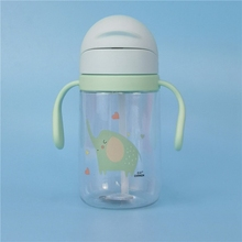 все цены на 400ML Kids Baby Water Bottle Free Children's Cup Baby Portable Feeding Bottle With Straw Handles Leak Proof Durable Water Cup 1 онлайн