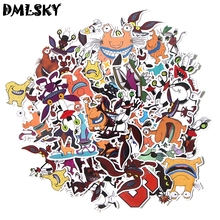 DMLSKY 42pcs Aaahh Real Monsters Album Sticker Waterproof Pvc Scrapbooking for Phone Luggage Laptop Guitar Decoration M3050