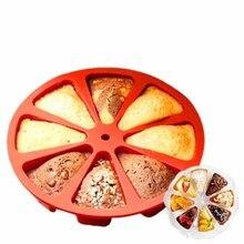 Silicone Bakeware DIY Cake Tools Pizza Plate Random Color 100% Guaranteed Healthy Silicone Kitchen Accessories стоимость