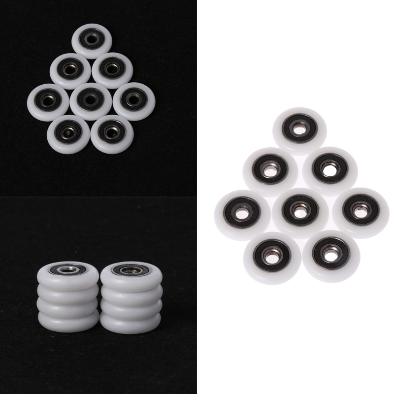 8 Pcs Bath cabinet roller wheel shower room accessories bearing roller wheel 5*23*5.7mm