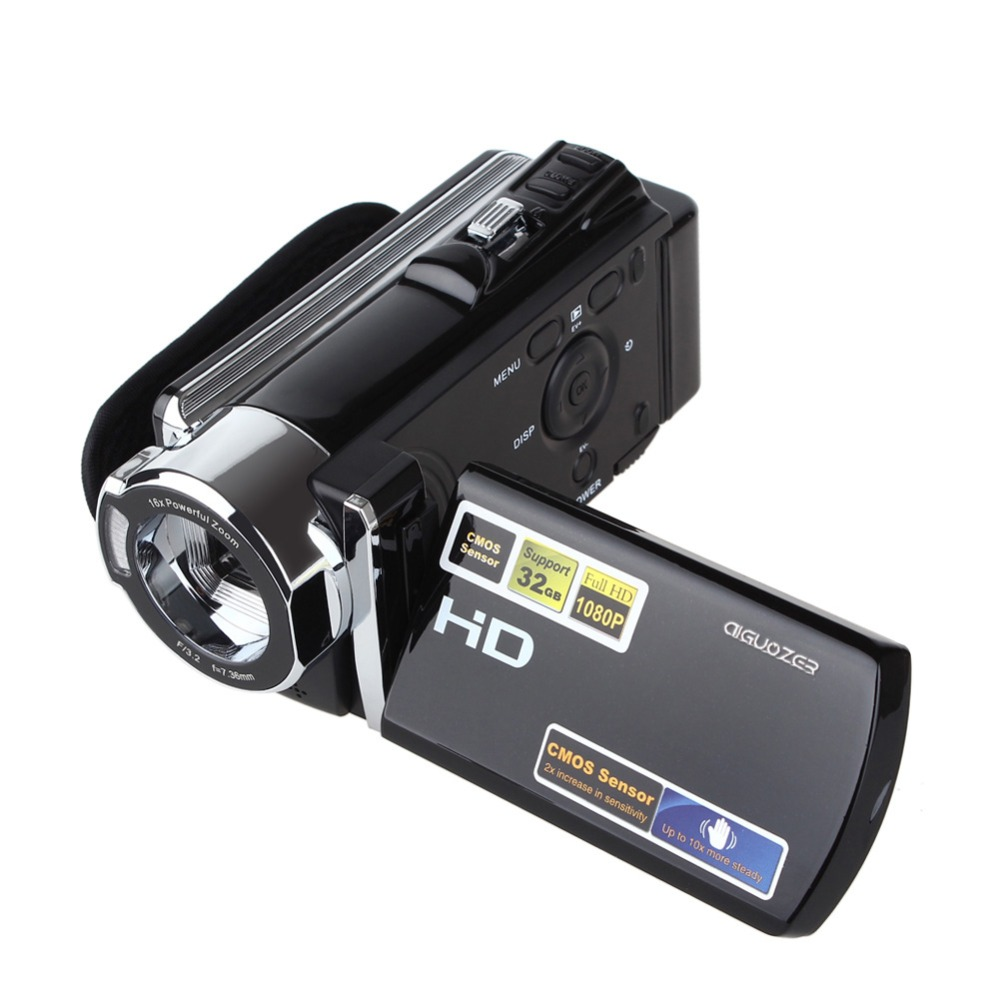 Full HD 1080P Video Camcorder with 3'' TFT LCD 16X ZOOM HDV-604S 20MP Digital Video Camera DV DVR Mini Camcorder