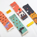 Baby Leg Warmers Infant Toddler Safety Crawling Kids Knee Pads Protector Cute Animal Printed Kneepad Sets