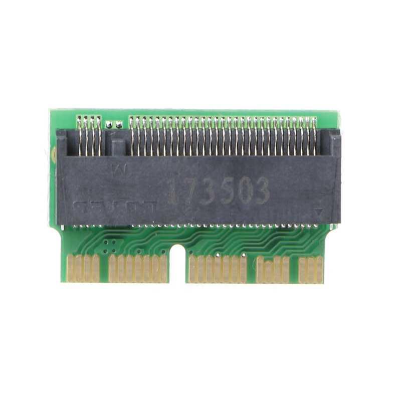 Bgektoth высокое качество адаптера M ключ M.2 PCI-e до 12 + 16Pin AHCI SSD адаптера для 2013 2014 2015 Mac MacBook Air Pro