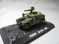 1/72 U.S. Army HMMW M1046 with Antitank Missile Diecasts Alloy Collection Model