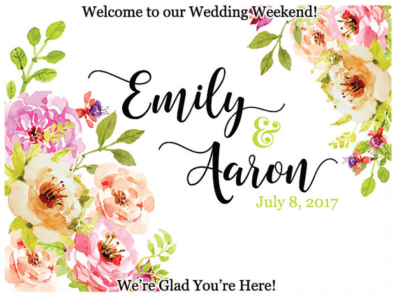 Personalized Welcome Box Labels Wedding Welcome Gift Bag Labels Wedding Favor Labels Welcome Stickers Box Stickers in Party DIY Decorations from Home Garden