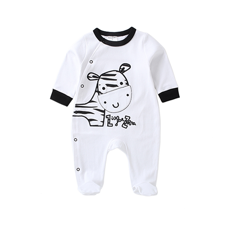Near Cutest 2017 Baby Boy Girl Romper Clothes Long Sleeve Fleece Baby Rompers Newborn Baby Clothing Jumpsuit Infant Clothing baby rompers newborn infant clothing 2016 brand baby boy girl long sleeve one piece romper bamboo leaves toddler jumpsuit