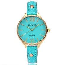 все цены на Bayan Saatleri Top Luxury Women Watches Fashion Casual Ladies Dress Bracelet Leather Watch Clock Quartz Watches Relogio Feminino онлайн