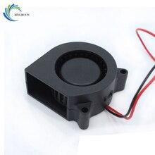 Ücretsiz Kargo 3D yazıcı aksesuarları 12 V 4020 turbo fan fan soğutma fanı