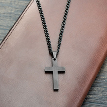 Summer Love Jewelry Men's Cross Necklaces For Women Men Stainless Steel