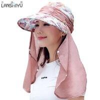 Sun Hats For Women Summer Sun Visor Hat With Big Heads Wide Brim Beach Hat Omnibearing