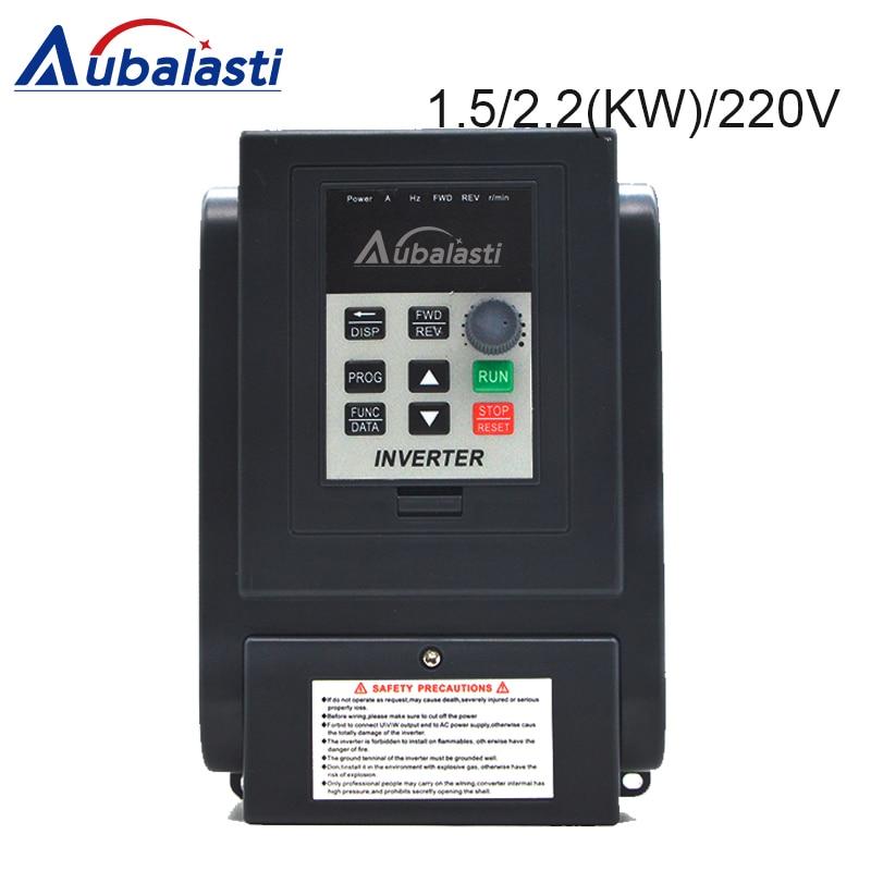 Inverter 1.5KW 2.2KW 220V Frequency Converter 1500W 2200W  3HP 220V 8A 12A AT4 3P 380v utput 400 Hz use for CNC machineInverter 1.5KW 2.2KW 220V Frequency Converter 1500W 2200W  3HP 220V 8A 12A AT4 3P 380v utput 400 Hz use for CNC machine