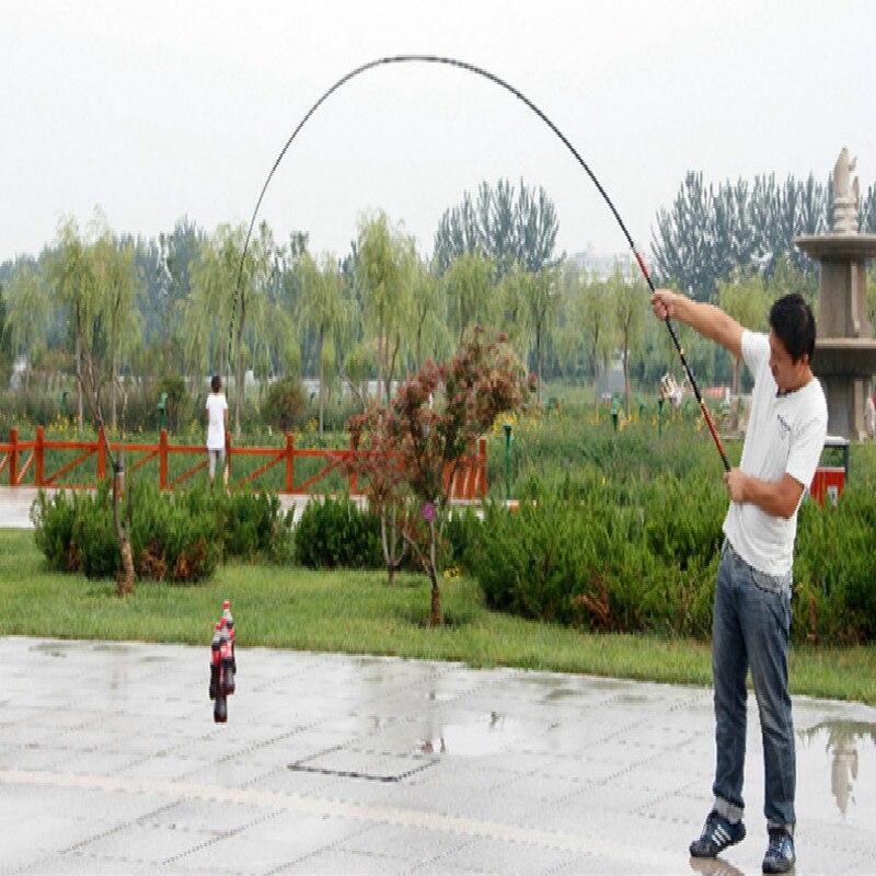 Vara de Pesca 3.6/4.5/5.4/6.3 m Livre Telescópica Venda