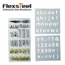 Flexsteel 28 шт дровяной печи сварочные наконечники комплект