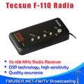 5 unids Tecsun F-110 FM DSP radio estéreo portátil mini receptor de radio FM de radio del campus para los estudiantes