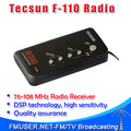5pcs Tecsun F-110 FM stereo radio DSP portable mini campus FM radio receiver radio for students