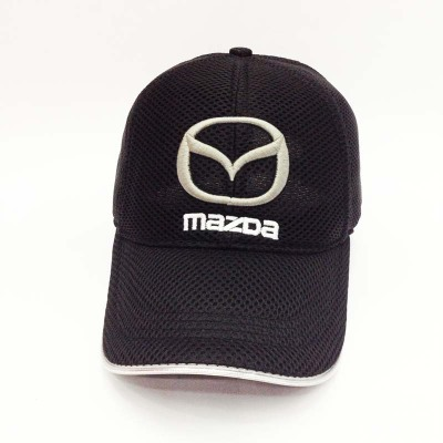 2016 Wholesale Fashion Summer Mazda Car Mesh Baseball Cap F1 Racing Cup Leisure Hat Car Logo Hat