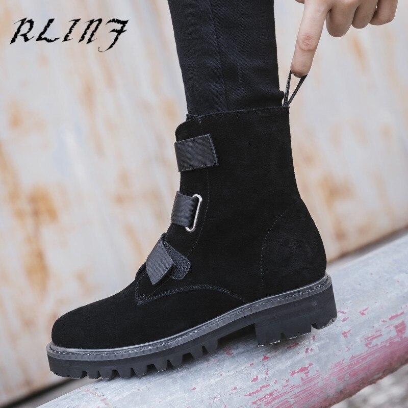 D'hiver Et Nouveau Chevelu 2018 Chaussures Automne Cuir Martin Noir Rlinf De Mode Chaussons Bottes Femmes clair Grand 0mwON8nv