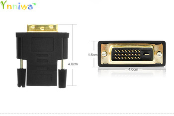 цена на DVI 24+1 Male to HDMI Female Converter HDMI to DVI adapter Support 1080P for HDTV LCD