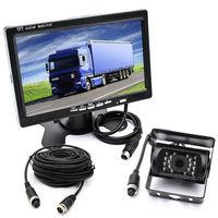 Автобус, грузовик RV Автомобиль ИК-подсветкой заднего вида резервного копирования Камера всепогодный + Дистанционное управление 7
