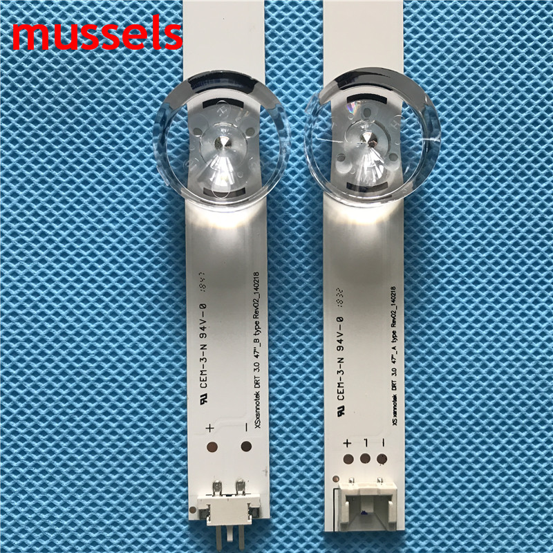 """Image 2 - LED Backlight strip For LG 47"""" inch TV 9 Lamp innotek DRT 3.0 47"""" 47LB6300 47GB6500 47LB652V 47lb650v LC470DUH 47LB5610 47LB565V-in Industrial Computer & Accessories from Computer & Office"""