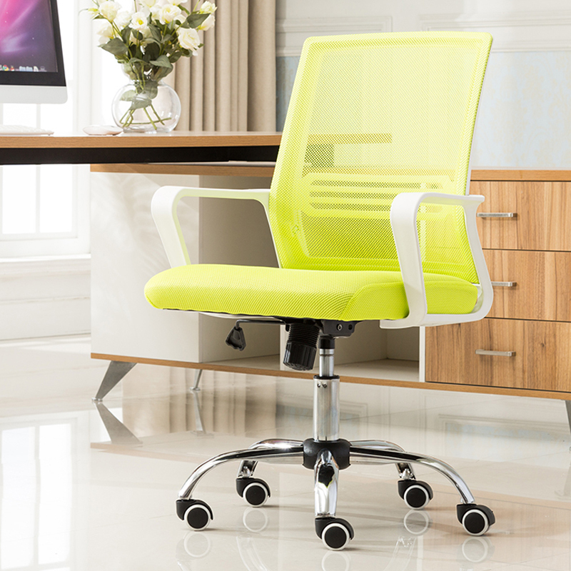 WB# 3463 Simple computer home office cloth bow conference swivel staff dormitory chess mahjong chair free shipping computer chair net cloth chair swivel chair home office