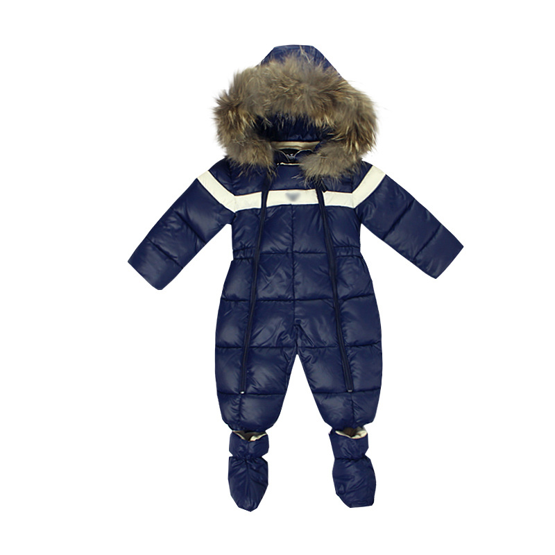 -20 degree 2016 russian winter children clothing boy winter Waterproof kids clothing boys parka jackets for boys snow