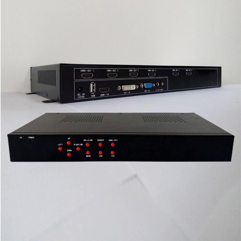 processeur de mur vidéo HDMI DVI USB vga entrée HDMI sortie pour 6 - Accueil audio et vidéo - Photo 3