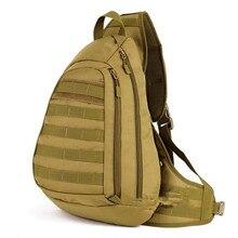 Многофункциональный мужской груди дорожная сумка большая грудь мешок военный высокого класса Двойного назначения Рюкзак износостойких Мужской мешки