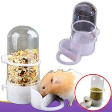Plastic Pet Automatic Food Water Dog Feeder Bowl Bottle Dispenser for Animal Cat Drinker