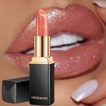 Marca profesional maquillaje de labios impermeable brillo de larga duración pigmento nude Rosa sirena brillo labial de maquillaje de lujo cosmética