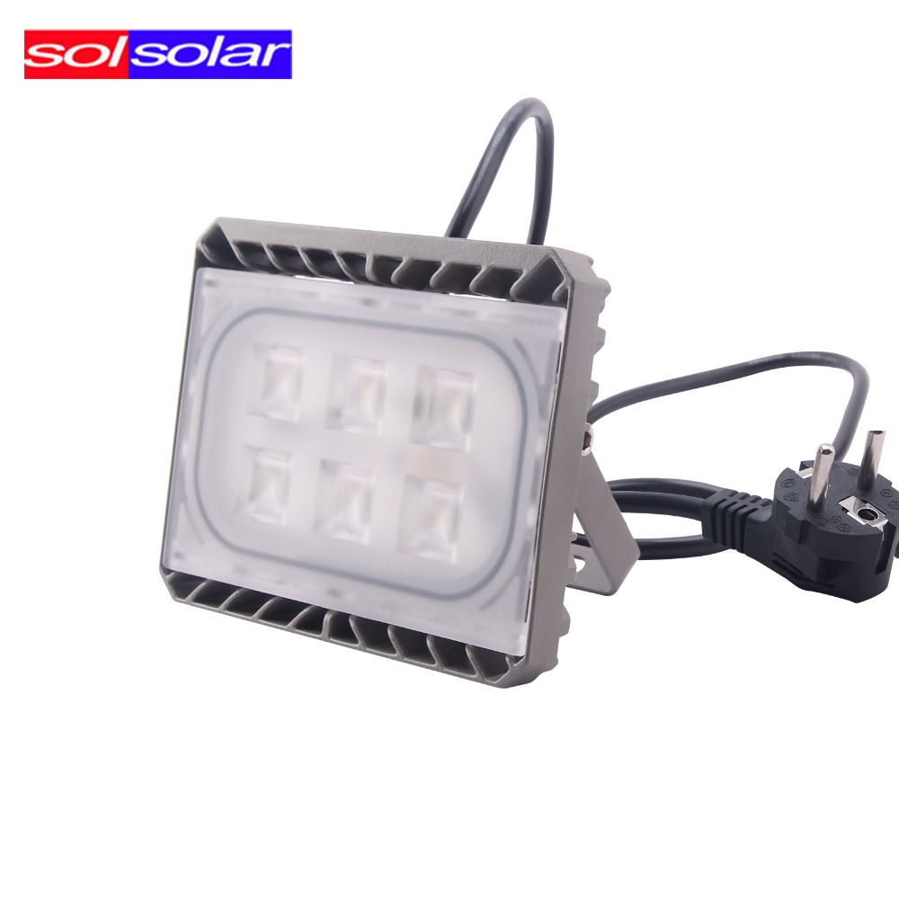 cree led flood light 30w led reflector projecteur led exterieur 110v 220v led floodlight. Black Bedroom Furniture Sets. Home Design Ideas