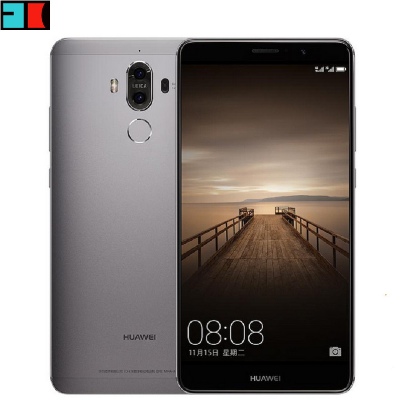 "Huawei Mate 9 4GB 32GB Global Firmware 4G LTE Mobile Phone Android 7.0 Octa Core 5.9"" FHD 20.0MP NFC Dual Camera Cellphone"