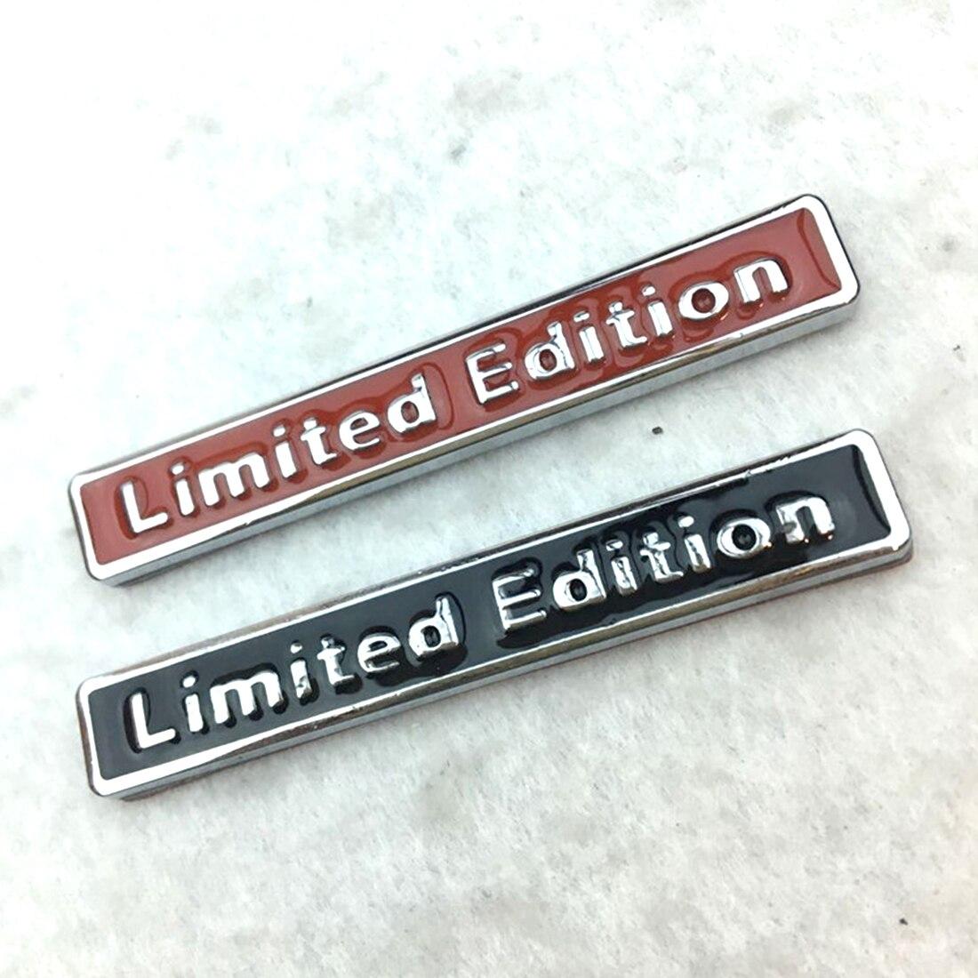Hot Sale 3D Metal Chrome Limited Edition Auto Car Sticker Badge Decal Motorcycle Stickers Emblem For Suzuki Honda Kawasaki HARLE