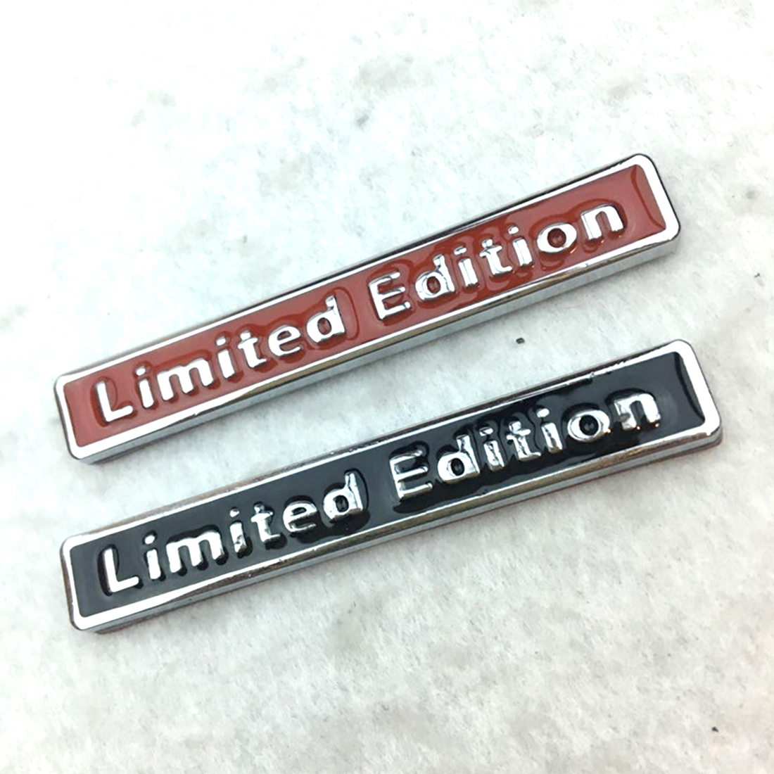 3D Metal Chrome Limited Edition Auto Car Sticker Badge Decal Motorcycle Embl ZJP