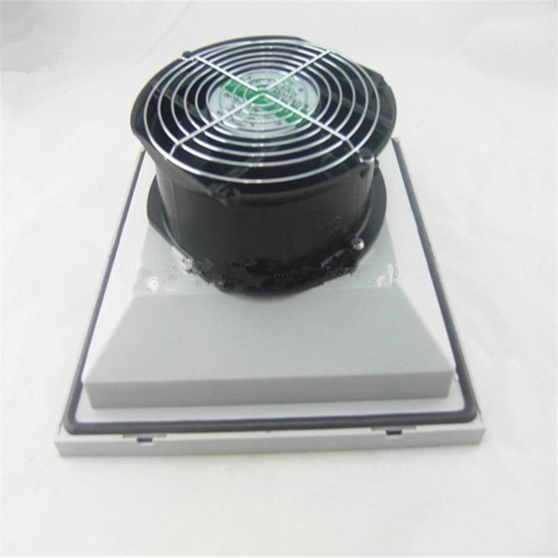 220V 53W Fan filters fan for control cabinet, electric control cabinet BA6625PB.230 Cabinet filters With seals 255*255*127mm