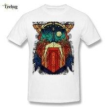 Cool Men Odin Wodan Geometric Vikings T Shirt Summer Streetwear Man Brand T-Shirts Stylish Male Camiseta