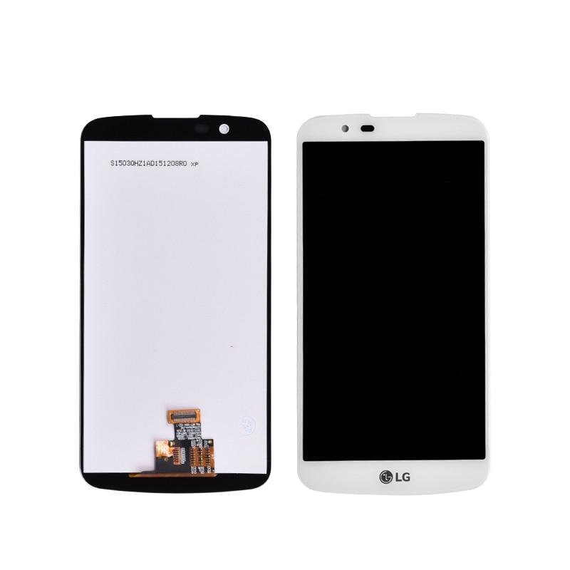 Originale Per LG K10 LTE K420N K430 K430DS Display LCD con Touch Screen Digitizer Assembly in Bianco e Nero K420 lcdOriginale Per LG K10 LTE K420N K430 K430DS Display LCD con Touch Screen Digitizer Assembly in Bianco e Nero K420 lcd