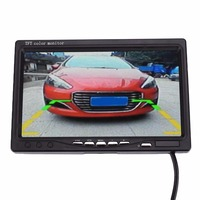 7 Inches TFT Display Car Truck Rear View Camera HD CCTV Backup Reverse Monitor DC 12
