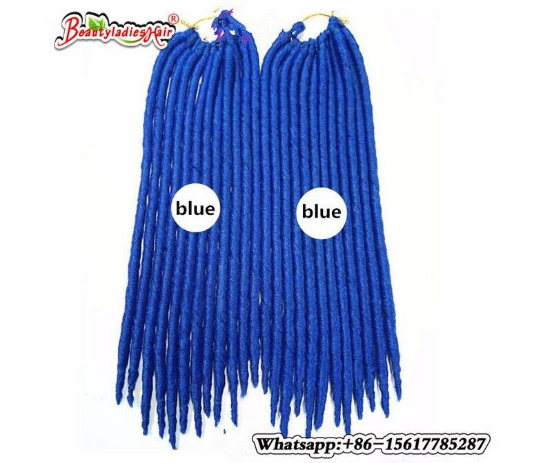 Eunice Αβάνα Mambo Faux Locs Συνθετική πλεξούδα - Συνθετικά μαλλιά - Φωτογραφία 4