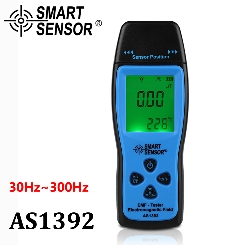 Digital radiation dosimeter Mini EMF Tester LCD Electromagnetic Field Radiation Detector Dosimeter Tester Meter Counter handheld 18151312 1522a