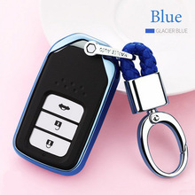 2019 Nieuwe Soft Tpu Key Cover Case Voor Honda Crv Odyssey Accord 2013 2017 Auto Shell Auto Stylingkey bescherming Sleutelhanger Accessoires