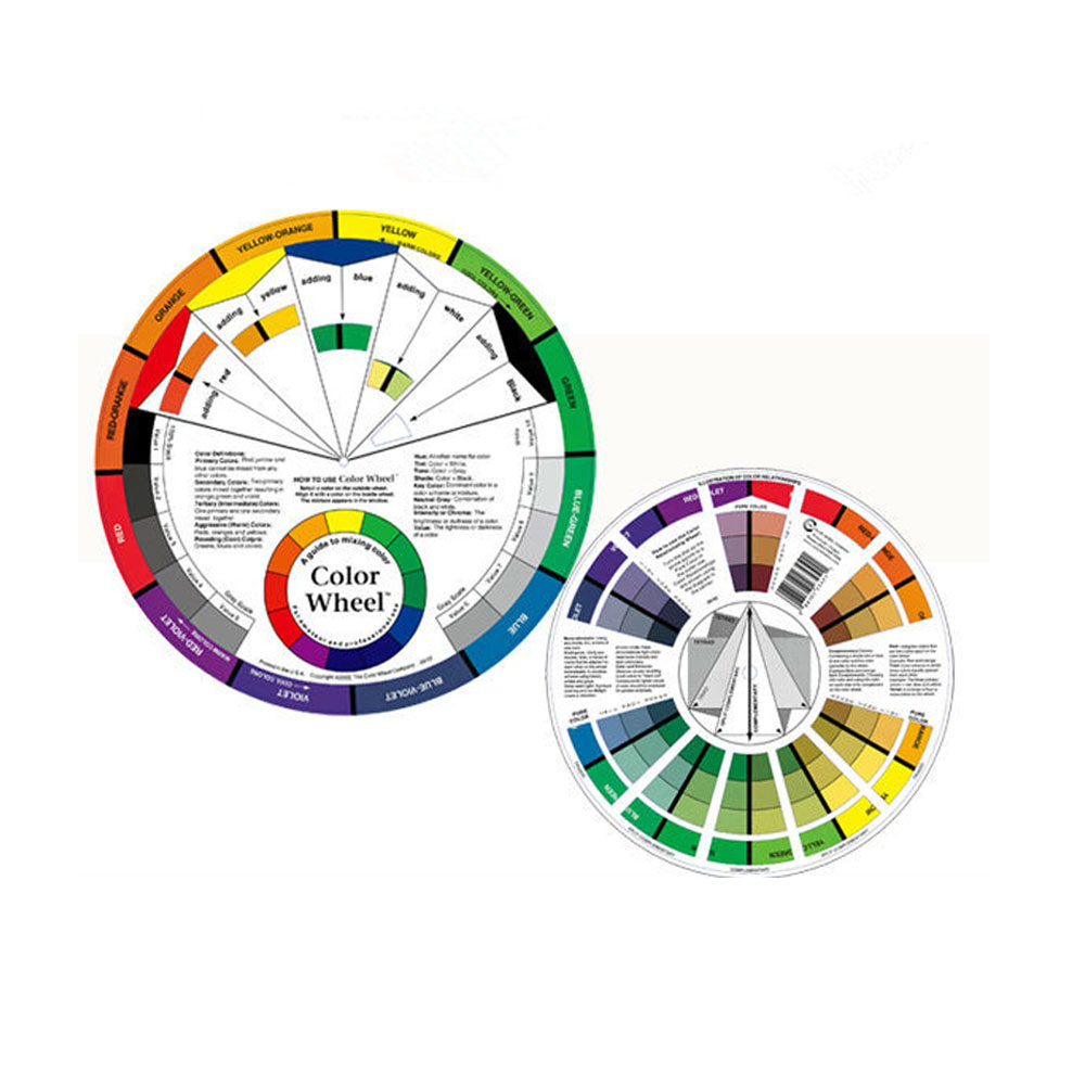 Color wheel online free - Free Shipping 2 Pcs Tattoo Permanent Makeup Accessories Color Wheel Biotouch Color Wheel Guide China