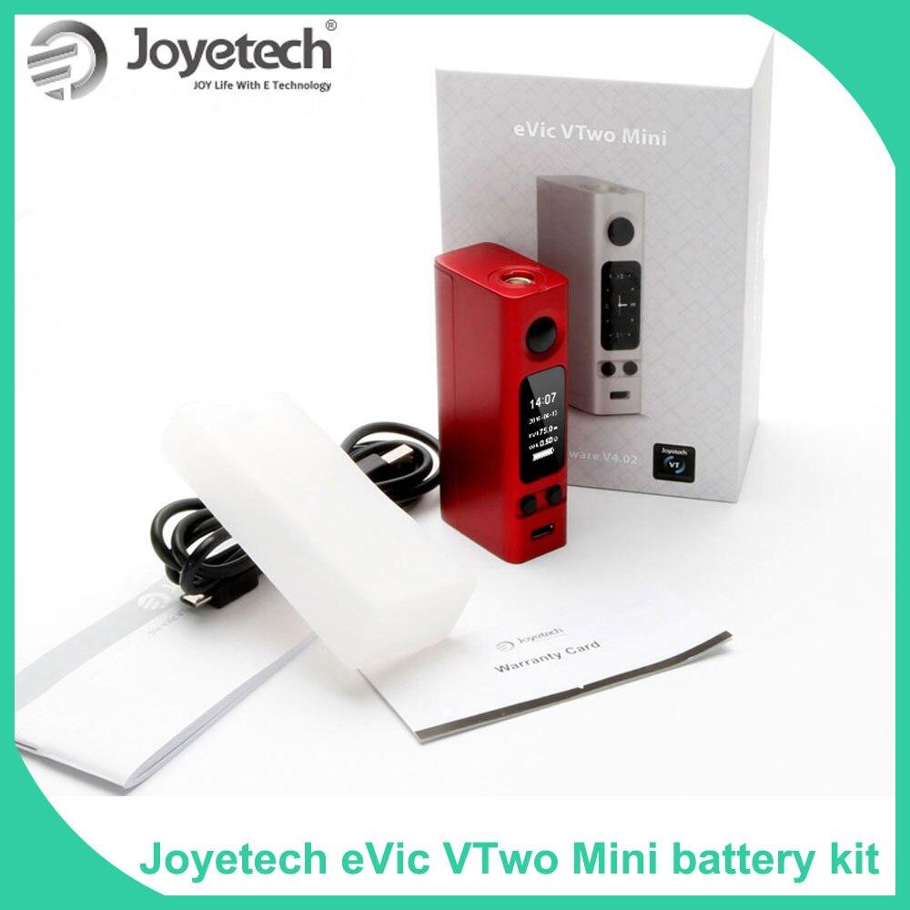 Big Sale! 100% Original Joyetech eVic VTwo Mini Box Mod 75W TC/VW/VT/Bypass/TCR mode eVic VTC Mini e-Cigarette vape mod