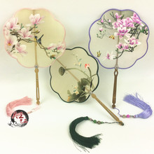 Suzhou embroidery pure hand-made fan double-sided products