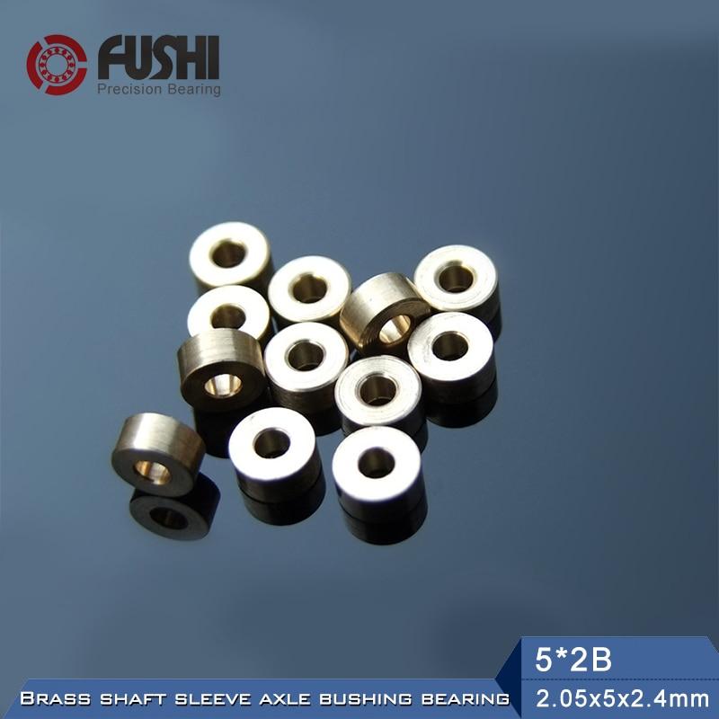 Oil Bearing 5*2B 5*2.5B 6*2.5B 6*3B ( 10 Pcs) Brass Shaft Sleeve Axle Bushing Bearings For DIY RC 4WD Models 1 piece bu3328 6 6 33 27 5 29 5 mm z25 guide rail u groove plastic roller embedded dual bearing