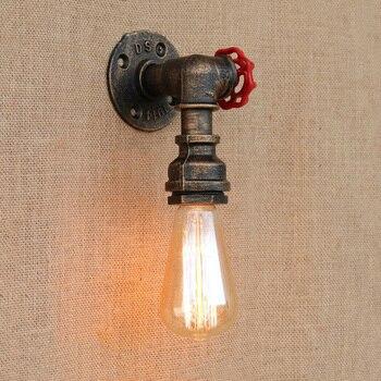 Industrieel IJzeren Brandweer Wandlamp 4